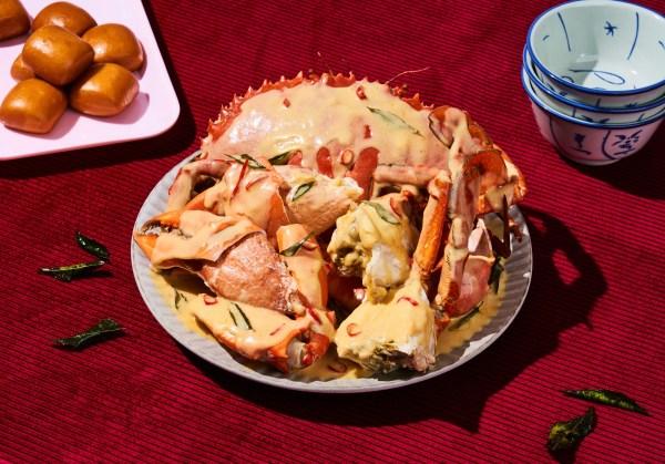 Garlic Truffle crab by 8crabs