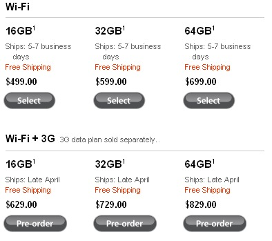 iPad-PriceList