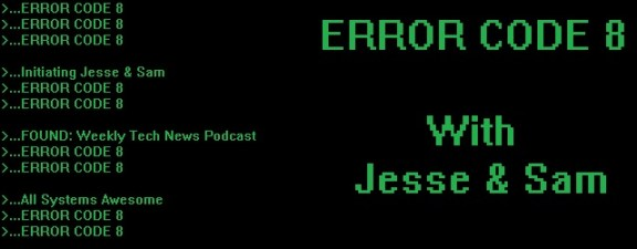 Error Code 8 Header