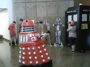 Dallas Comic Con- Dalek, TARDIS, etc