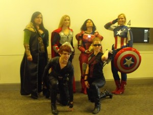 Dallas Comic Con- Reverse gender Avengers (800x600)