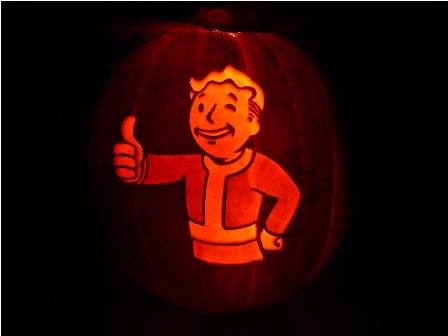 vault boy pumpkin