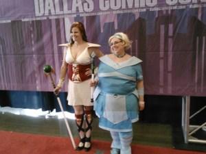 Codex and Clara cosplay