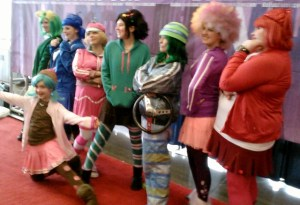 Sugar Rush cosplay