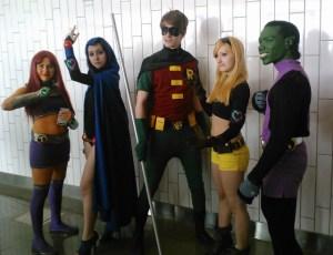 Teen Titan cosplay