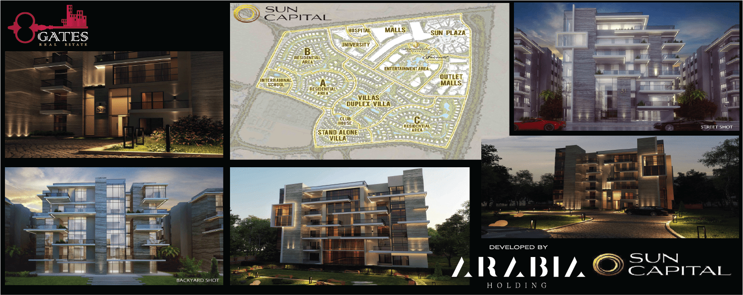 Sun Capital - Sun Capital October City - Sun Capital Arabia Holding - Sun Capital Compound - Sun Capital October Gardens-Sun Capital Egypt - Sun Capital 6 October City - Sun Capital Apartments - Sun Capital Master Plan - Sun Capital Location - Sun Capital Prices
