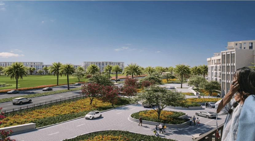 Golf Residence Uptown Cairo Emaar Misr - Up Town Cairo - Emaar Misr Development-Apartments For Sale Golf View - 8 Gates Real Estate Egypt (8)