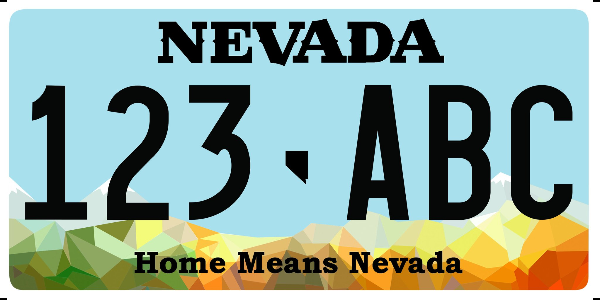 New Nevada License Plate Debuts