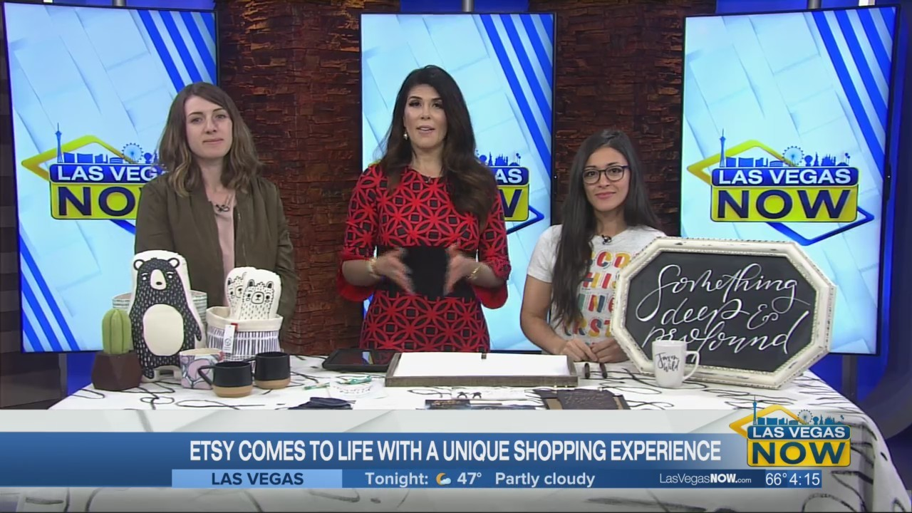 Etsy comes to life with a unique shopping experience