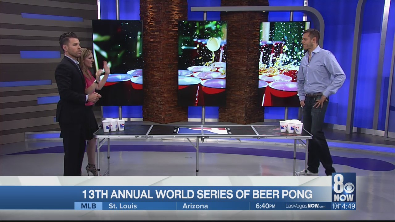 The World Series of Beer Pong is happening at The Westgate