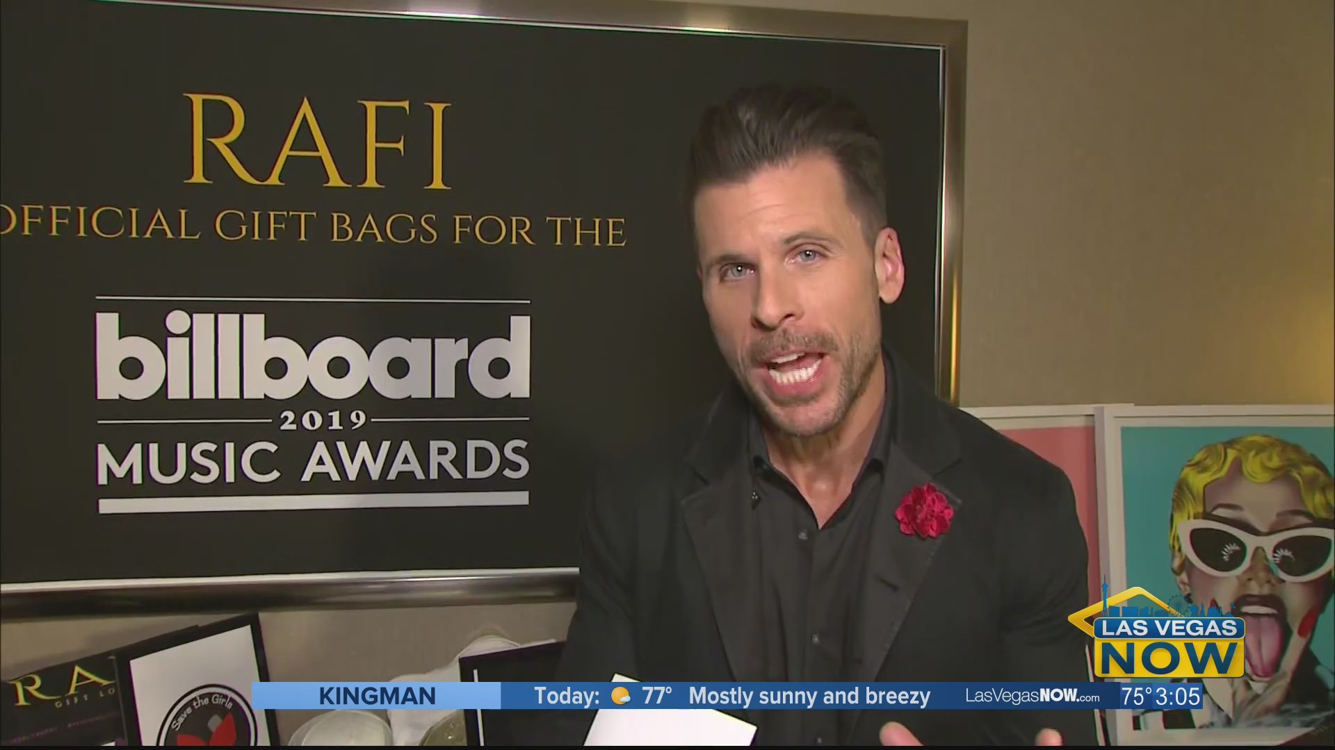 A look inside the Billboard Music Awards Rafi Gifting Lounge