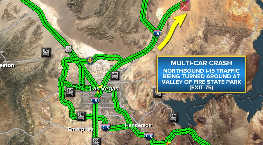 UPDATE* I-15 Back Open North of Las Vegas