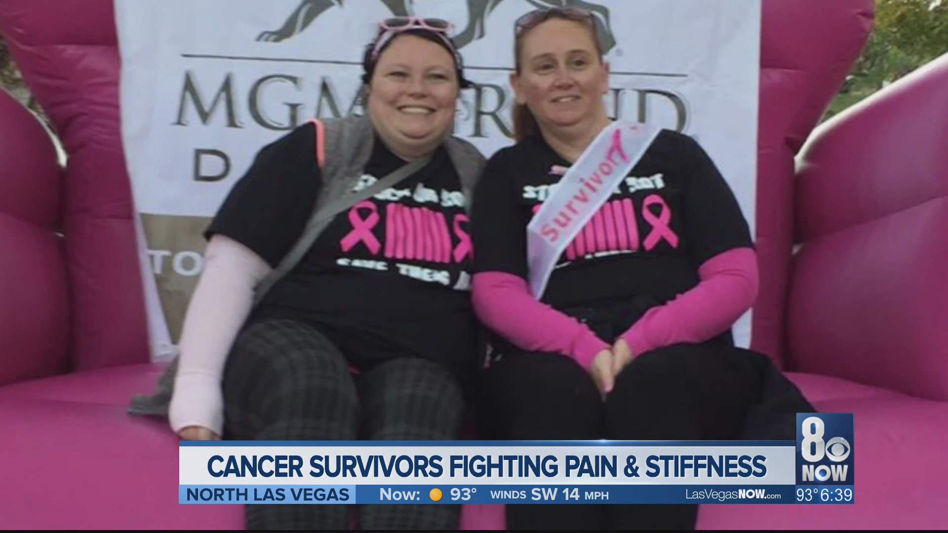 Cancer survivors fighting pain and stiffness