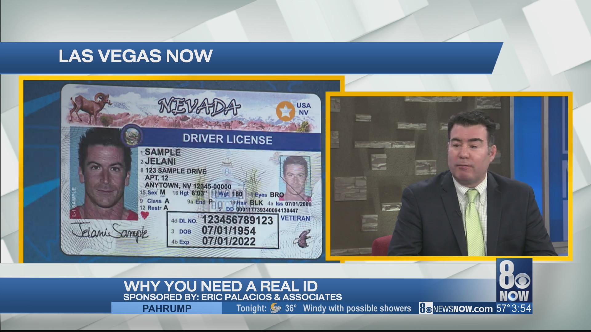Las Vegas attorney Eric Palacios