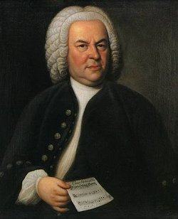 A Portrait of the great Johann Sebastian Bach