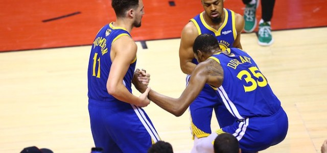 Kevin Durant Injured His Achilles in Second Quarter of NBA Finals