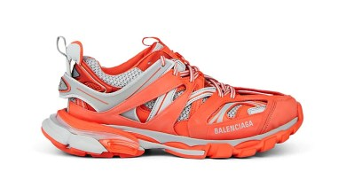 Photo of Balenciaga's Track Trainer Lands a Blazing Orange and Grey Colorway