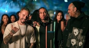 Tyga Haute Chris Brown & J Balvin