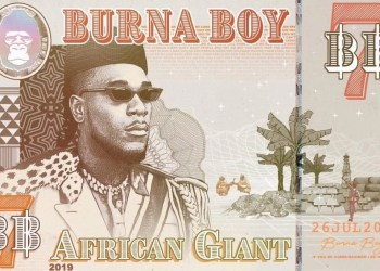 burna boy african giant album