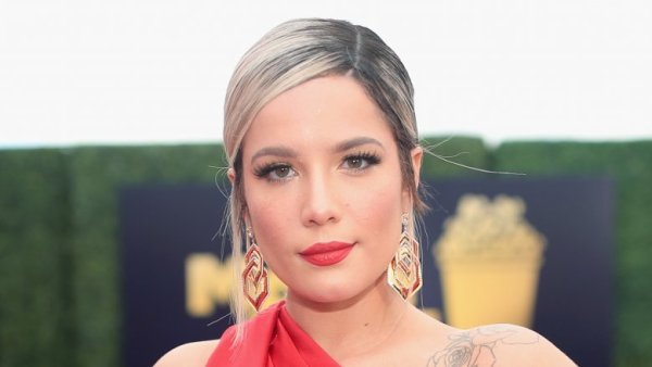 Halsey calls out fan for yelling g- eazy