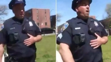 Photo of Baltimore Cop Purposely Coughs Near Residents In New Footage