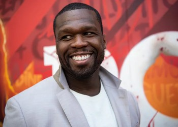 50 Cent throws table at man