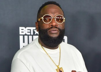 Rick Ross Pinned To The Cross
