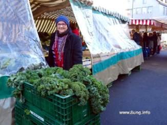Markt mit Kundin