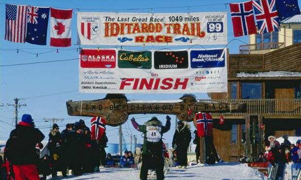 Iditarod Typing Race: Race Day Events