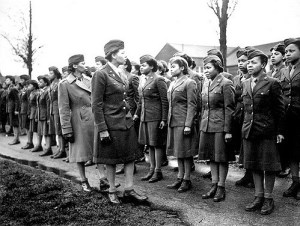 African American WACS during World War II