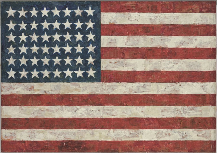 Jasper Johns: American Flag