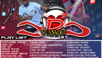 Photo of DJ Phlava Gh – Odo Yewu Mix Vol. 2
