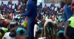 Pastor Lashes Church Members