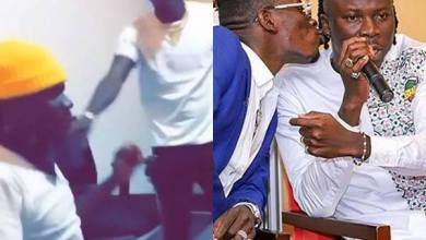 Photo of Video of Stonebwoy in heated argument with Shatta Wale pops up