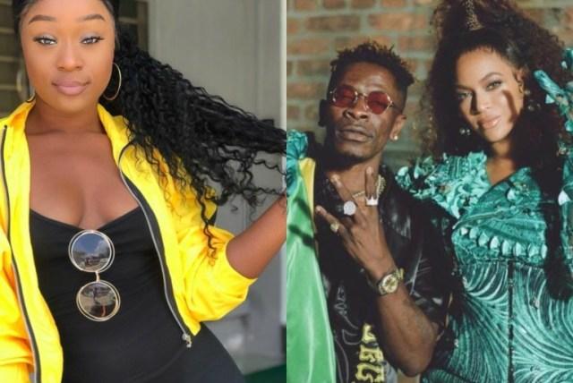 Beyoncè is now popular in Ghana because of Shatta Wale – Efia Odo insists (screenshot)