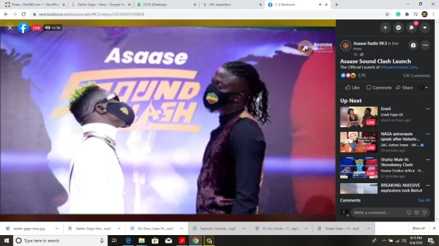 Stop the needless rants before I end your career – Stonebwoy tells Shatta Wale.