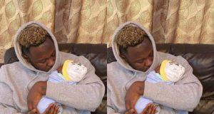 Medikal shares first adorable photos of his daughter