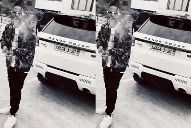 Kelvyn Boy flaunts his second-hand Range Rover