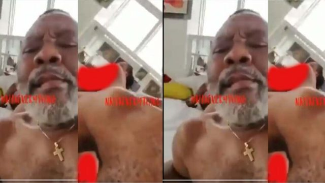 L3a.ked Video Of Imo State PCC Commissioner, Chief Willy With Two Ladies 'Chopping' Themselves Drop.