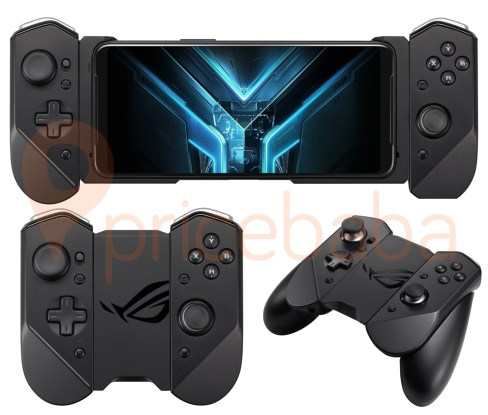 The ASUS Kunai Gamepad for ROG Phone 3 has a new design and repositioned buttons