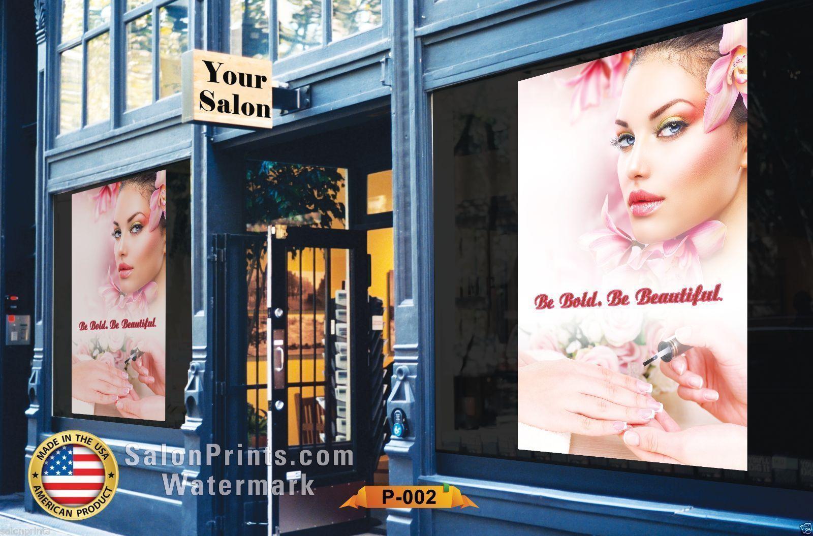 nail salon poster nsd p009
