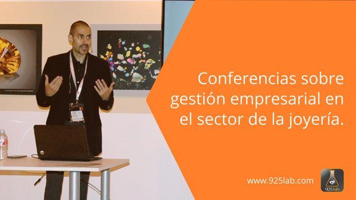 Conferencias sector joyería