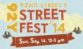 92Y Street Fest '14