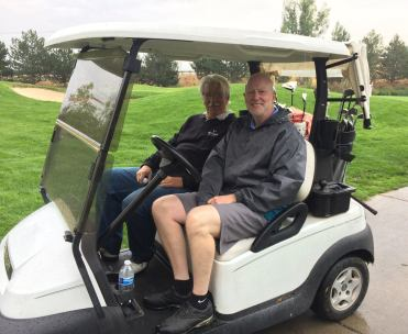 Doug Hardy, Mark Renick - 2017 Golf Tournament