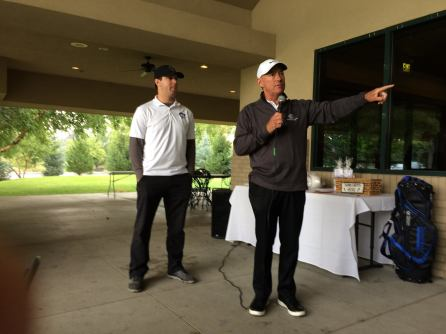 Marty Tadman, Mark Johnson - 2017 Golf Tournament