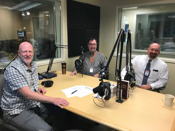 Doug with Brian Armes and Mike Munger