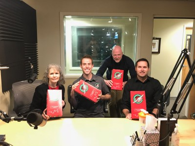 Diane Hittle and Ryan Vilfer with Operation Christmas Child