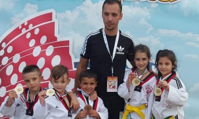 Pioggia di medaglie per i piccoli atleti del Taekwondo Marletta
