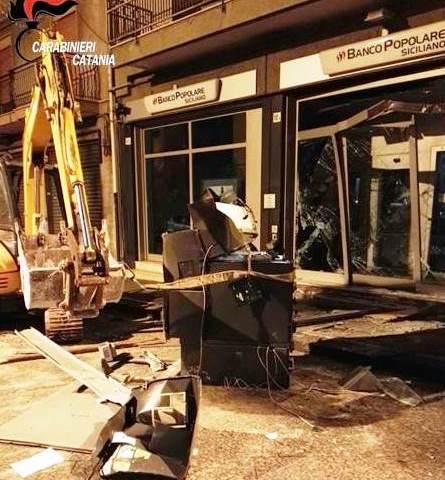 MISTERBIANCO: Sventato furto al Banco popolare siciliano