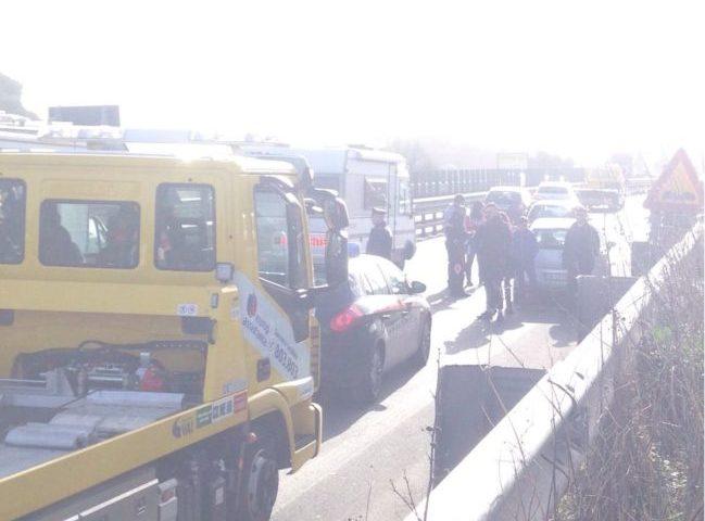 Doppio incidente oggi sulla ss 121